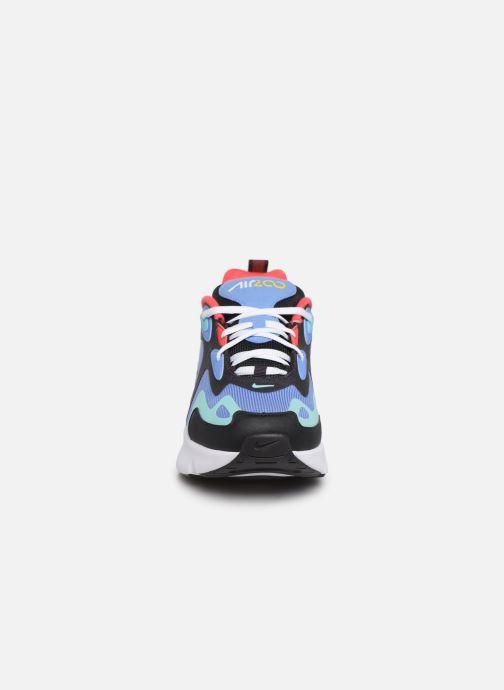 Sneakers Nike Nike Air Max 200 (Gs) Azzurro modello indossato