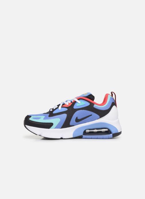 Baskets Nike Nike Air Max 200 (Gs) Bleu vue face