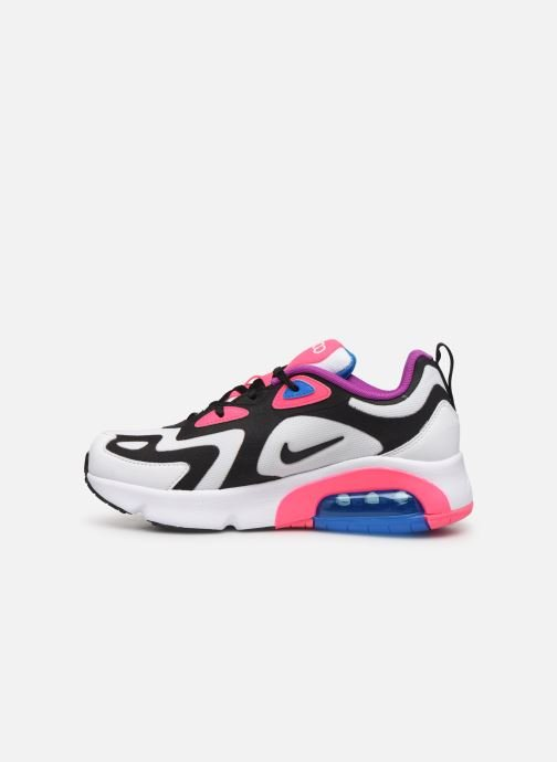 Sneakers Nike Nike Air Max 200 (Gs) Wit voorkant