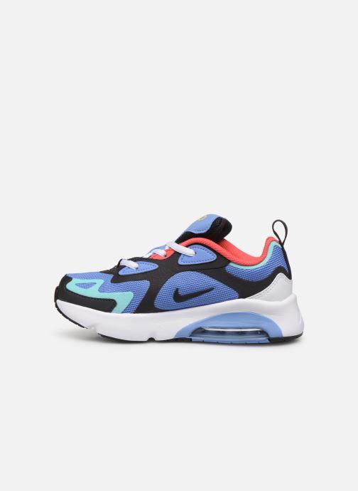 Deportivas Nike Nike Air Max 200 (Ps) Azul vista de frente