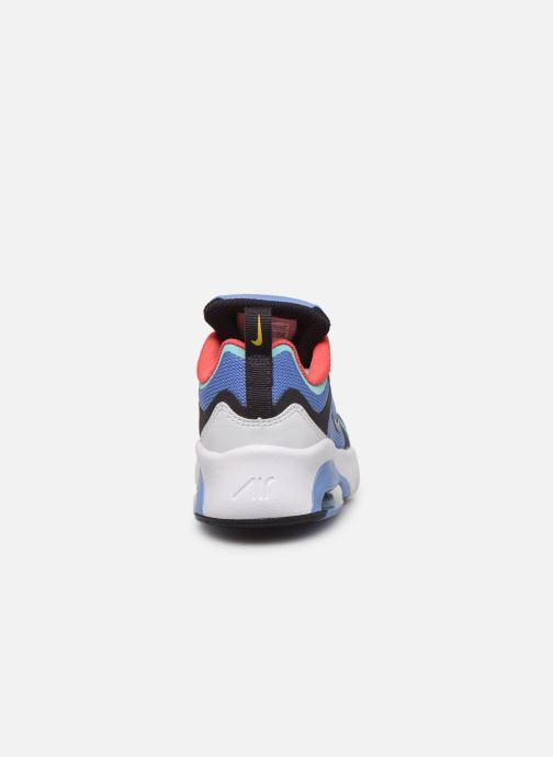 Deportivas Nike Nike Air Max 200 (Ps) Azul vista lateral derecha