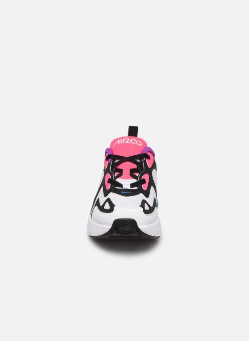 Baskets Nike Nike Air Max 200 (Ps) Blanc vue portées chaussures