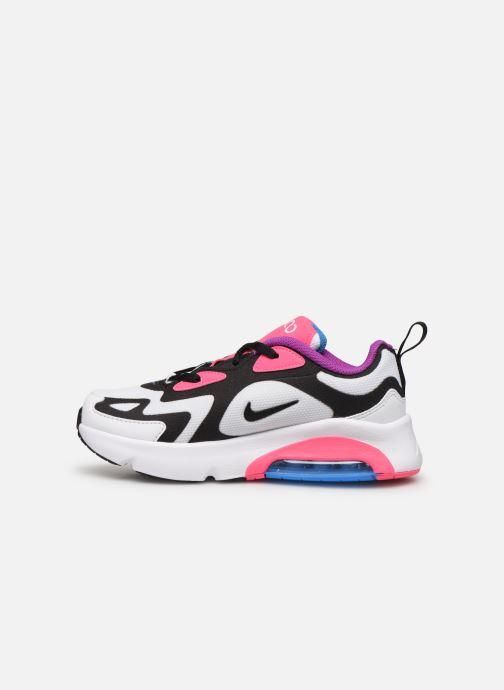 Baskets Nike Nike Air Max 200 (Ps) Blanc vue face