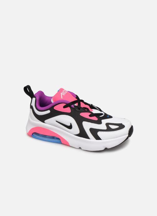Baskets Nike Nike Air Max 200 (Ps) Blanc vue détail/paire