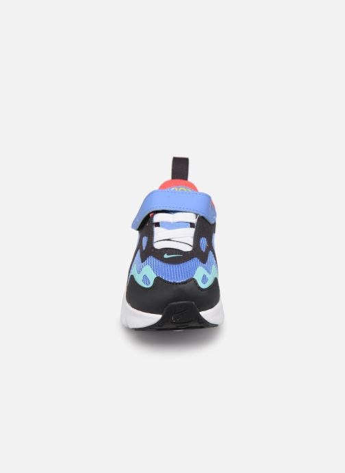 Baskets Nike Nike Air Max 200 (Td) Bleu vue portées chaussures