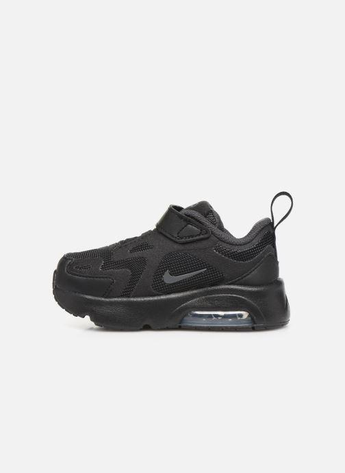 Deportivas Nike Nike Air Max 200 (Td) Negro vista de frente