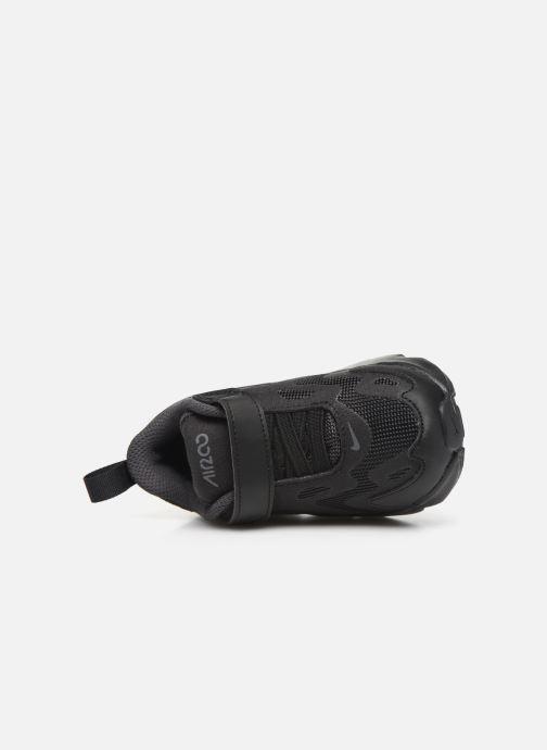 Deportivas Nike Nike Air Max 200 (Td) Negro vista lateral izquierda