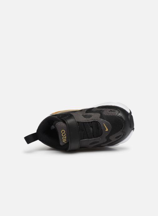 Sneaker Nike Nike Air Max 200 (Td) schwarz ansicht von links