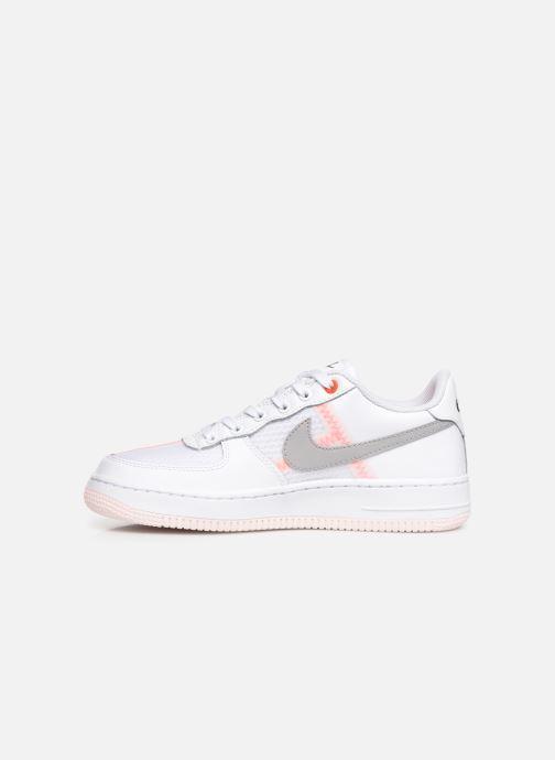 Deportivas Nike Air Force 1 Lv8 1 (Gs) Blanco vista de frente