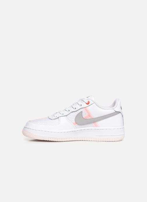 Baskets Nike Air Force 1 Lv8 1 (Gs) Blanc vue face