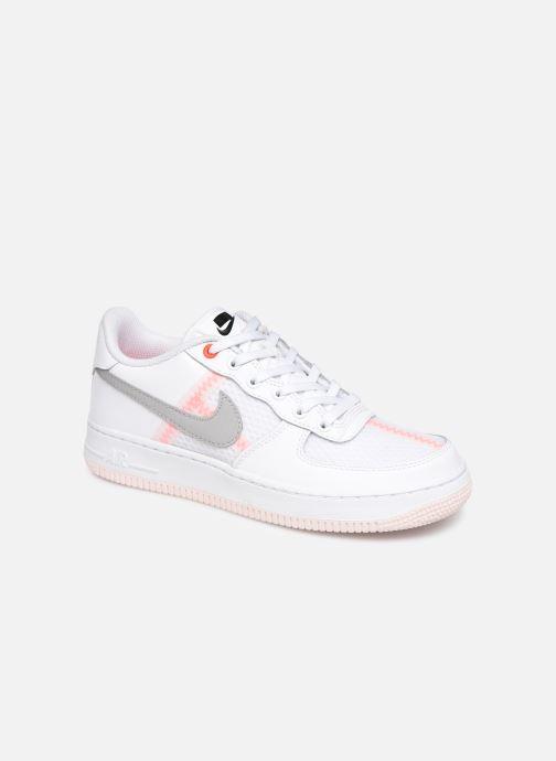 Baskets Nike Air Force 1 Lv8 1 (Gs) Blanc vue détail/paire