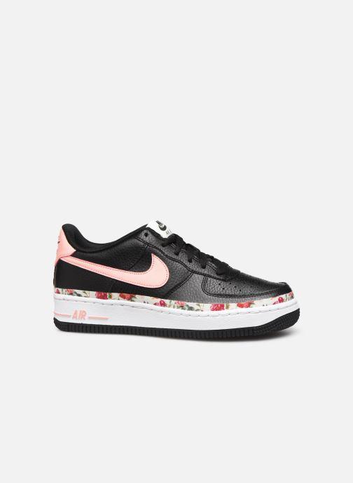 Sneakers Nike Air Force 1 Vf (Gs) Zwart achterkant