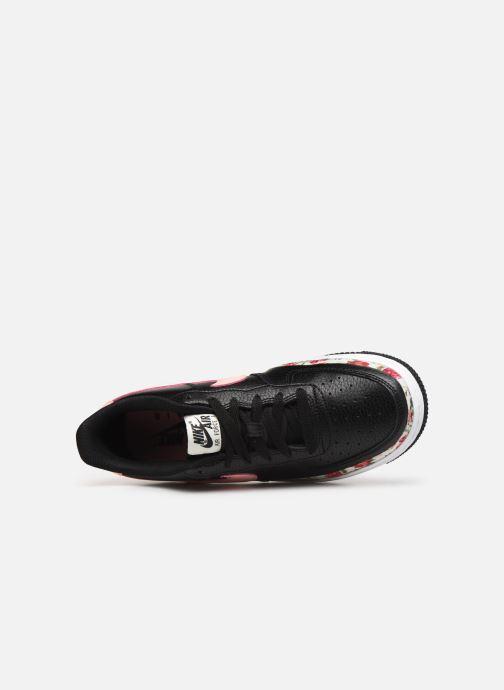 Baskets Nike Air Force 1 Vf (Gs) Noir vue haut