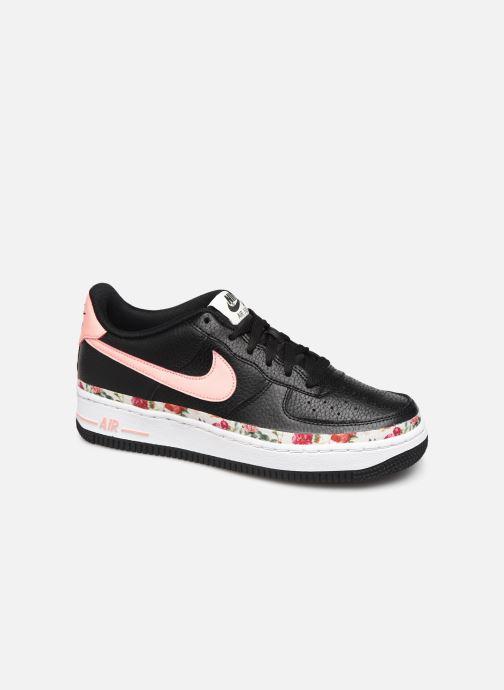 Sneakers Nike Air Force 1 Vf (Gs) Zwart detail