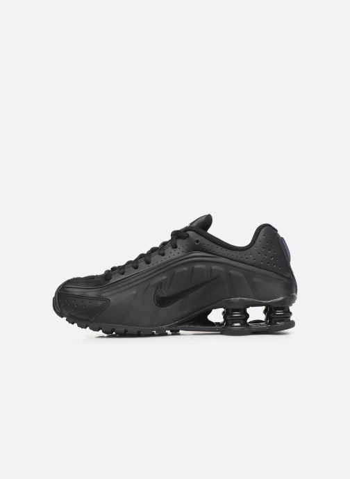 Sneakers Nike Nike Shox R4 (Gs) Svart bild från framsidan