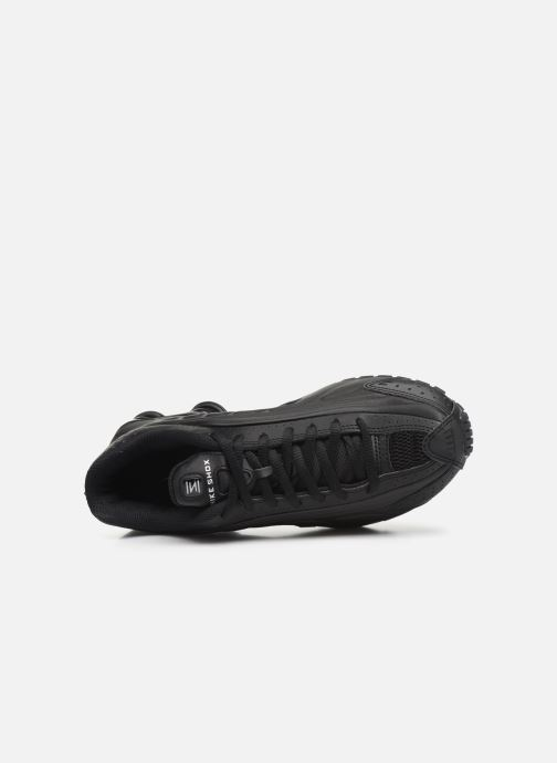 Trainers Nike Nike Shox R4 (Gs) Black view from the left