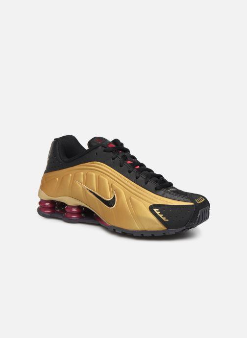 Baskets Nike Nike Shox R4 (Gs) Or et bronze vue détail/paire