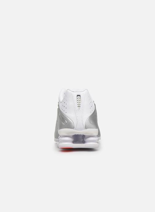 Baskets Nike Nike Shox R4 (Gs) Blanc vue droite