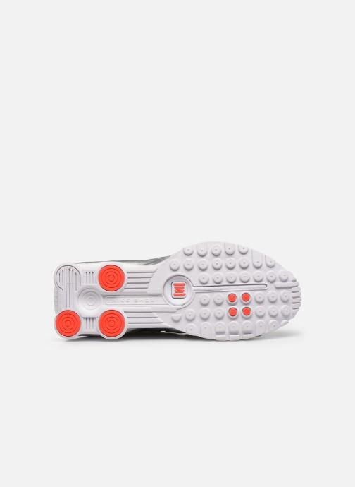 Baskets Nike Nike Shox R4 (Gs) Blanc vue haut