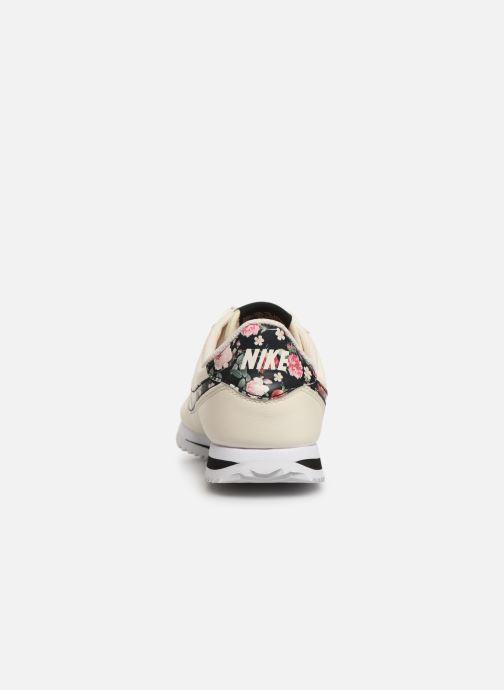 Deportivas Nike Cortez Basic Ltr Vf (Gs) Blanco vista lateral derecha
