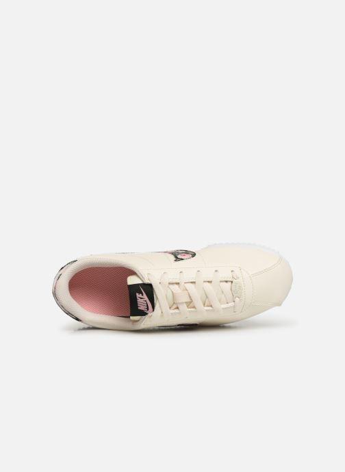 Baskets Nike Cortez Basic Ltr Vf (Gs) Blanc vue gauche