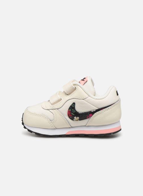 Sneaker Nike Nike Md Runner 2 Vf (Tdv) weiß ansicht von vorne