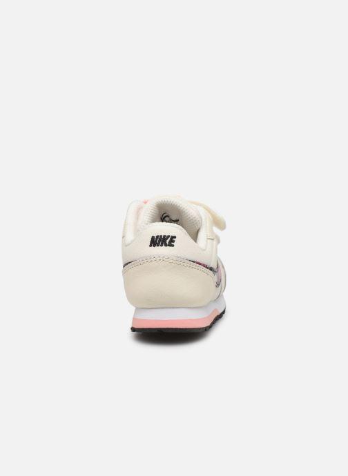 Deportivas Nike Nike Md Runner 2 Vf (Tdv) Blanco vista lateral derecha