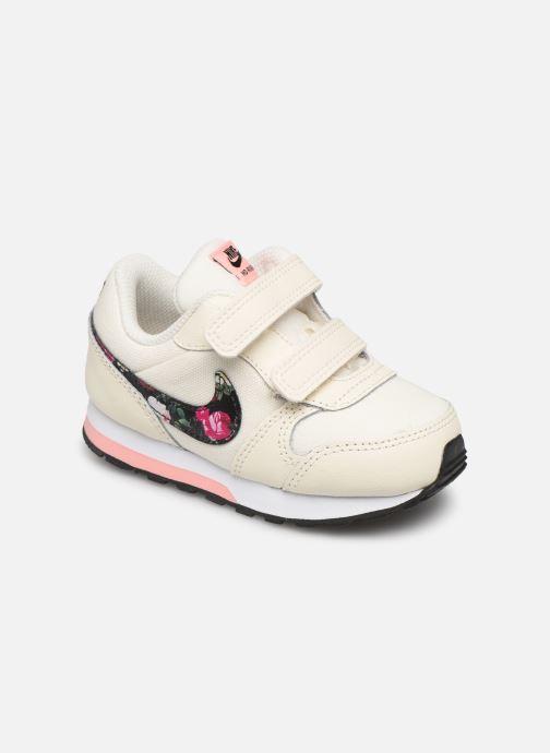 Sneakers Nike Nike Md Runner 2 Vf (Tdv) Hvid detaljeret billede af skoene