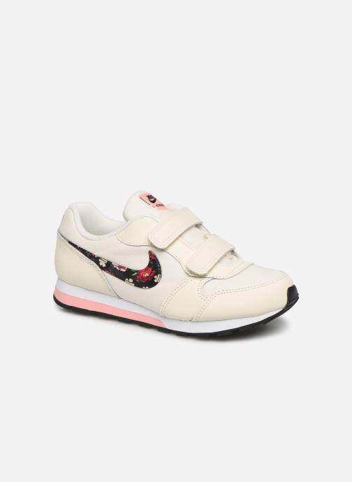 Baskets Nike Nike Md Runner 2 Vf (Psv) Blanc vue détail/paire