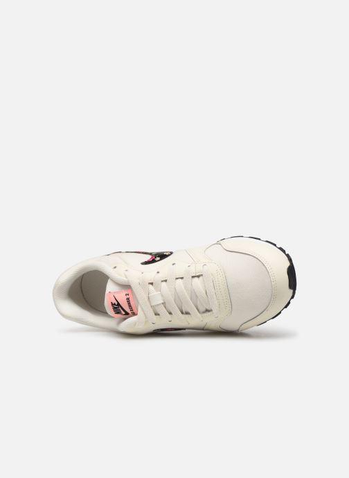 Baskets Nike Nike Md Runner 2 Vf (Gs) Blanc vue gauche