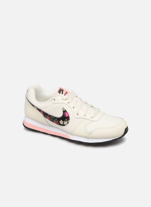 Baskets Nike Nike Md Runner 2 Vf (Gs) Blanc vue détail/paire