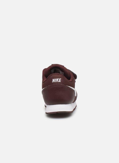Baskets Nike Nike Md Runner 2 Pe (Tdv) Bordeaux vue droite