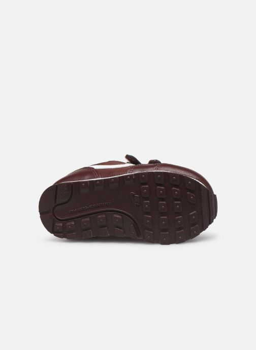 Baskets Nike Nike Md Runner 2 Pe (Tdv) Bordeaux vue haut