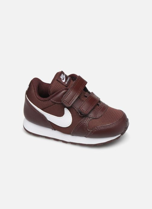 Baskets Nike Nike Md Runner 2 Pe (Tdv) Bordeaux vue détail/paire