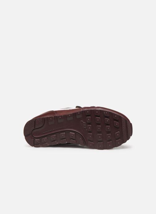 Sneaker Nike Nike Md Runner 2 Pe (Psv) weinrot ansicht von oben