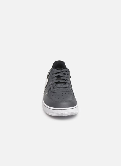 Sneaker Nike Force 1 Lv8 2 (Ps) grau schuhe getragen