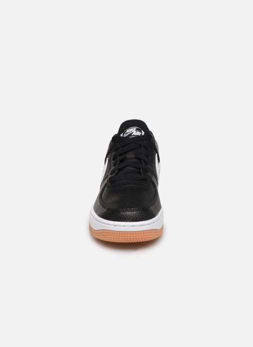 Sneaker Nike Air Force 1-2 (Gs) schwarz schuhe getragen