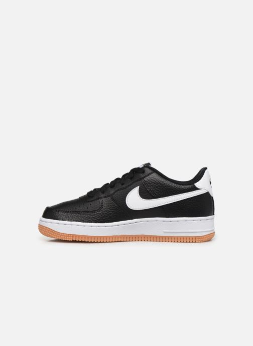 Sneaker Nike Air Force 1-2 (Gs) schwarz ansicht von vorne