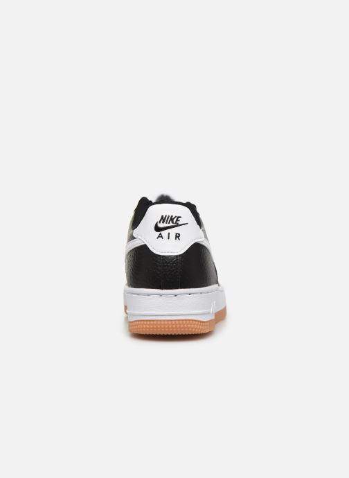 Sneakers Nike Air Force 1-2 (Gs) Zwart rechts