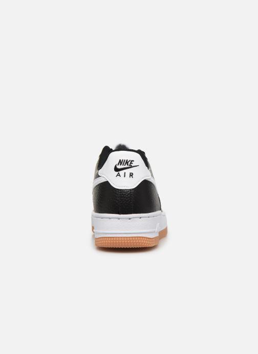 Sneaker Nike Air Force 1-2 (Gs) schwarz ansicht von rechts