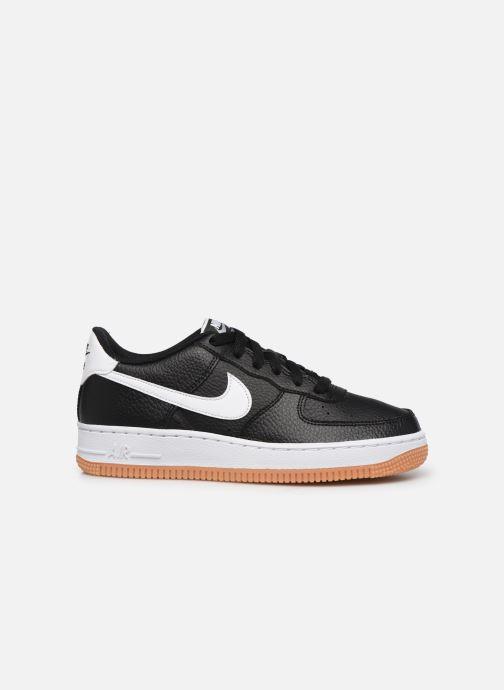 Sneaker Nike Air Force 1-2 (Gs) schwarz ansicht von hinten