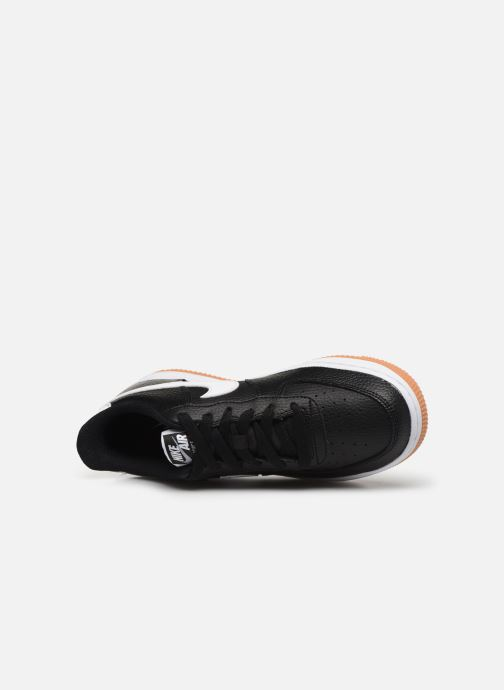 Sneaker Nike Air Force 1-2 (Gs) schwarz ansicht von links
