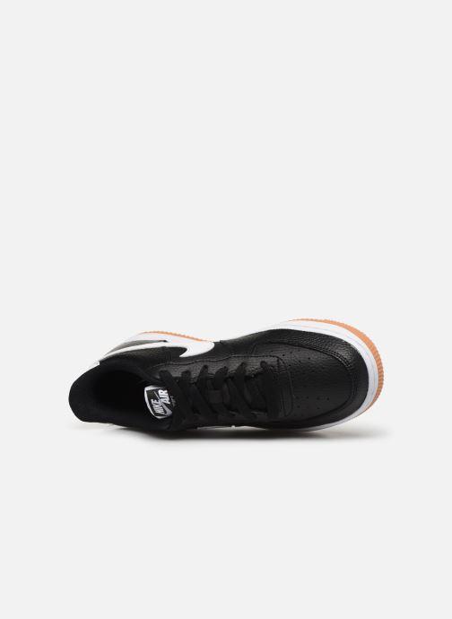 Sneakers Nike Air Force 1-2 (Gs) Zwart links