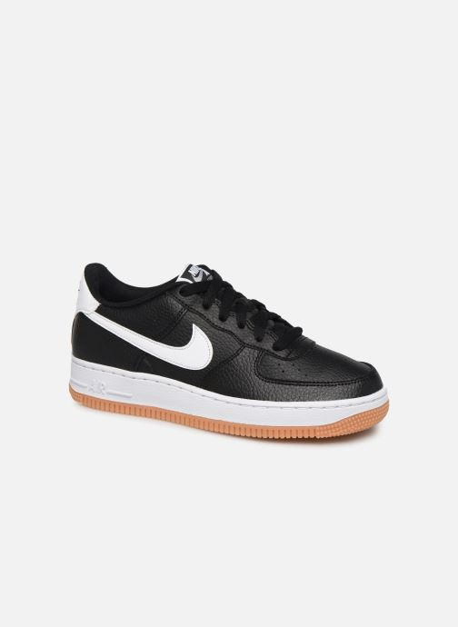 Sneakers Nike Air Force 1-2 (Gs) Sort detaljeret billede af skoene
