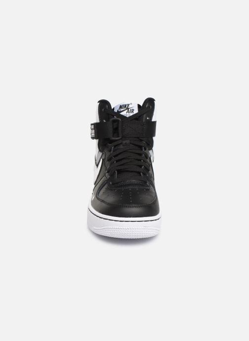 Sneaker Nike Air Force 1 High Lv8 2 (Gs) schwarz schuhe getragen