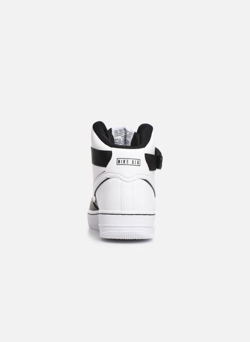 Sneaker Nike Air Force 1 High Lv8 2 (Gs) schwarz ansicht von rechts