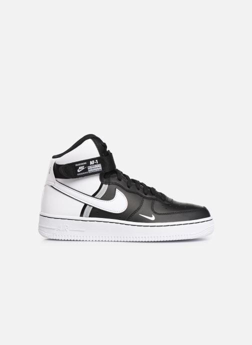 Sneaker Nike Air Force 1 High Lv8 2 (Gs) schwarz ansicht von hinten