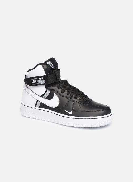 Sneaker Nike Air Force 1 High Lv8 2 (Gs) schwarz detaillierte ansicht/modell