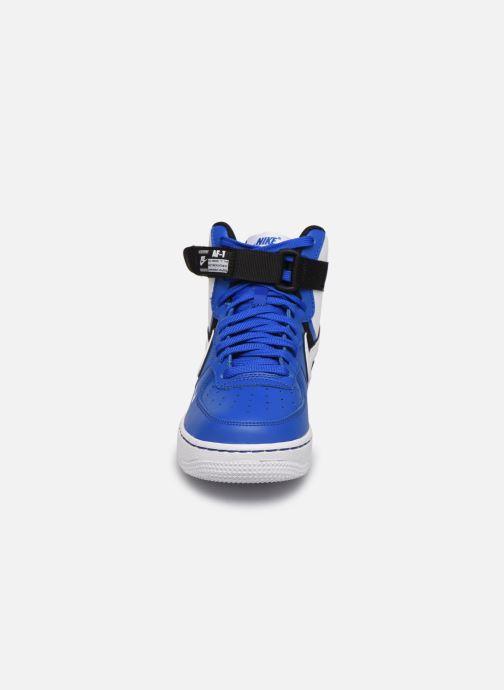 Sneakers Nike Air Force 1 High Lv8 2 (Gs) Blå bild av skorna på