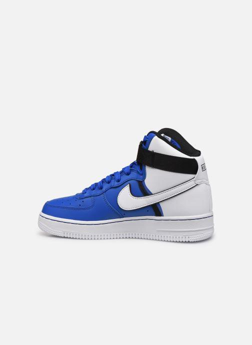Sneakers Nike Air Force 1 High Lv8 2 (Gs) Blå bild från framsidan